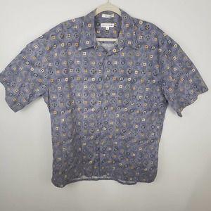 Pierre Cardin Men's Casual Button Front Shirt XL